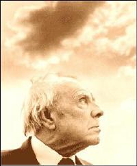"""""""El jardín de senderos que se bifurcan"""". Jorge Luis Borges."""